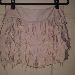 Express layered mini skirt